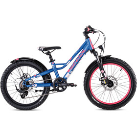 s'cool faXe 20-7-S Bambino, blu/rosa